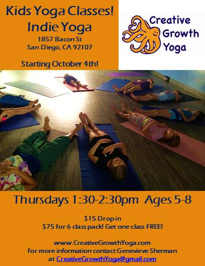 Fall Kids Yoga Classes!